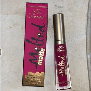 Brand New TooFaced Melted Matte Lipstick 💄